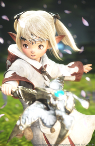 Don't be fooled by how cute they are; Lalafell can be just as big a jerk as anyone else.