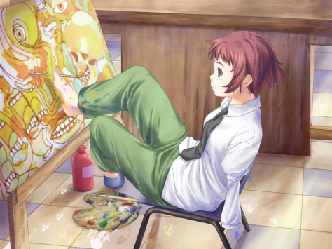 Like the other cast members, Hisao's perception of Rin quickly changes from being defined by her disability to being defined by her other characteristics.