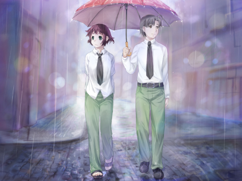 Hisao and Rin's relationship is down to earth and, at times, difficult. It ultimately has a positive effect on them both.