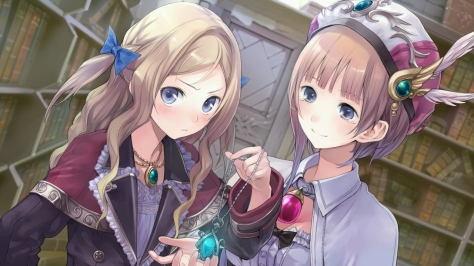 You simply won't see certain scenes in Atelier Rorona Plus if you don't meet their specific conditions.