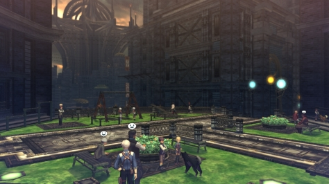 One of the nice things about revisiting areas in Xillia 2 is that those you only paid a flying visit to in the original -- like Trigleph here -- are given much more screen time.