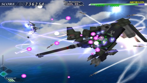 Ether Vapor Remaster isn't quite as much of a looker as Astebreed is, but it's still smooth, slick and thrilling to play.