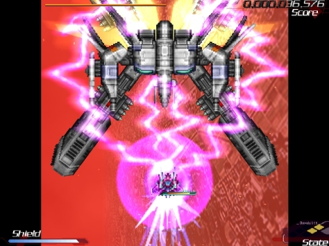 "In true bullet hell tradition, the weapons and attacks in RefleX are far from what you'd call ""understated""."