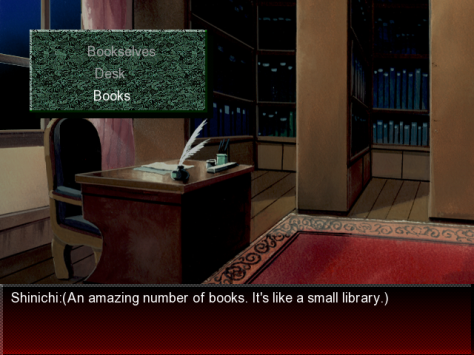 Like many visual novels of the late '90s, Nocturnal Illusion hides its linear nature through adventure game-style mechanics.