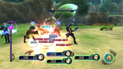 Hack, slash, chop! We'll talk more about Xillia's take on the Tales battle system later this week.