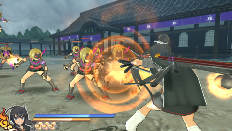 Shinovi Versus' 3D gameplay gave the series a very different feel to its predecessor, but still featured badass hack-and-slashing through hordes of enemies.