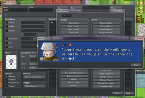 RPG Maker MV: Getting Started with Events | MoeGamer