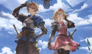 Granblue header Gran and Djeeta