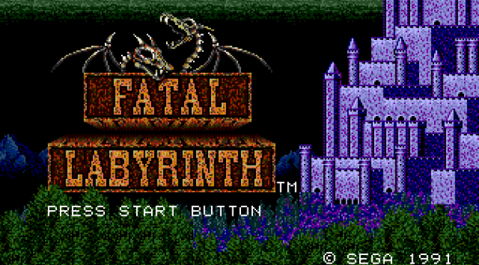 Mega Drive Essentials: Fatal Labyrinth