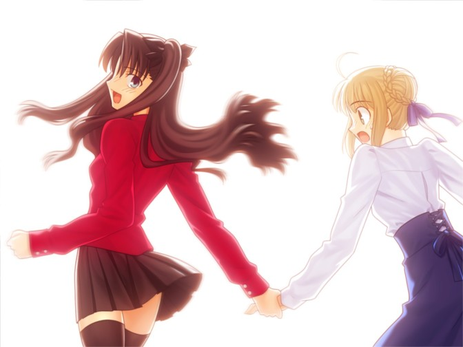 Fate/stay night: Struggling with Oneself
