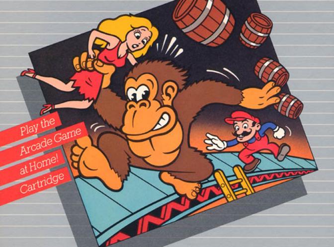 Nintendo on Atari: Donkey Kong