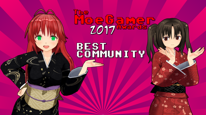 The MoeGamer Awards: Best Community