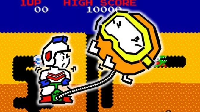 Namco Essentials: Dig Dug