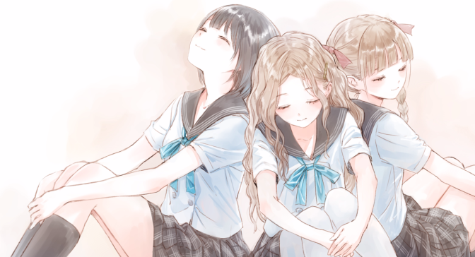 Blue Reflection: Narrative, Themes and Characterisation