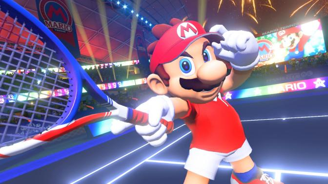 Mario Tennis Aces: Some First Impressions