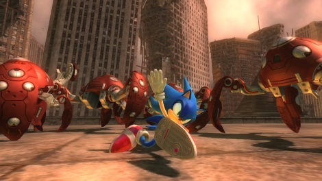 Sonic the Hedgehog (2006) (Xbox 360)