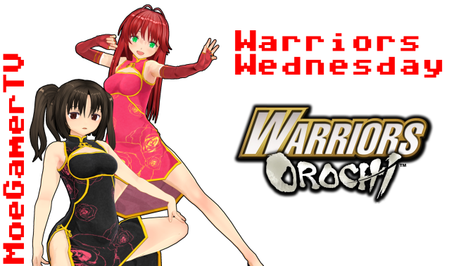 Warriors Wednesday: Samurai Warriors vs Orochi