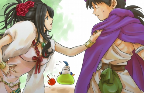 Debora and Hero, Dragon Quest V: Hand of the Heavenly Bride