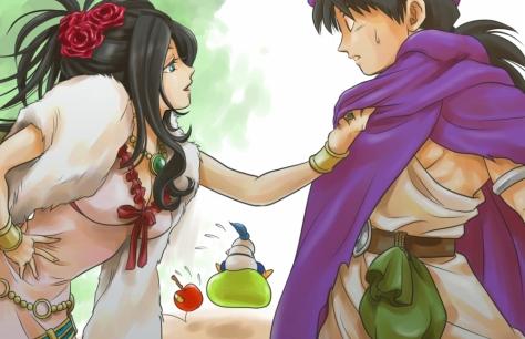 Debora and Hero, Dragon Quest V: Hand of the Heavenly Bride