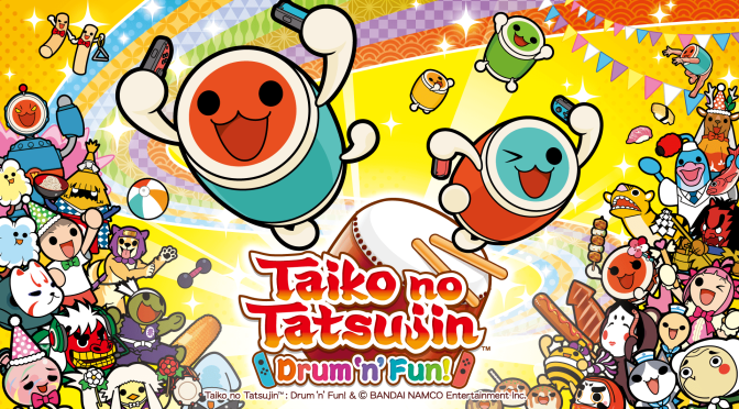 Taiko no Tatsujin Drum 'n' Fun (Demo): Motion and Music Don't Mix