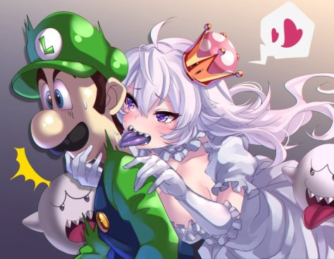 Princess King Boo x Luigi