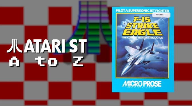 Atari ST A to Z: F-15 Strike Eagle