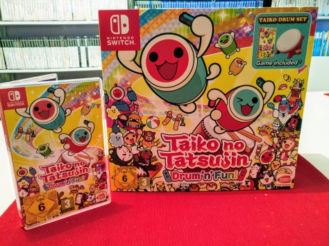Taiko no Tatsujin Drum 'n' Fun: Plastic Drums and Music Most