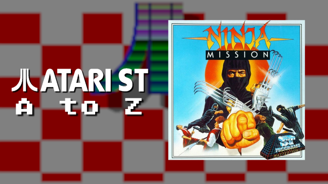 Atari ST A to Z: Ninja Mission