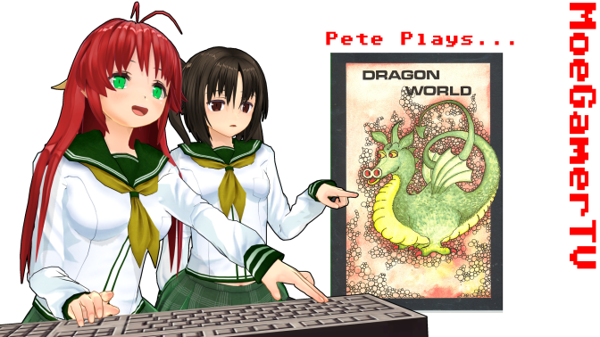 Pete Plays Dragon World: The Real Treasure is Love