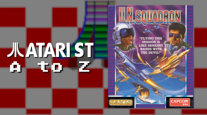 Atari ST A to Z: U.N. Squadron