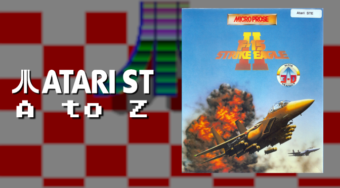 Atari ST A to Z: F-15 Strike Eagle II