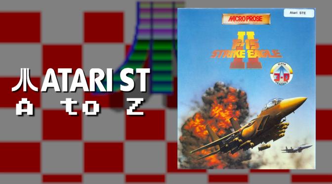 Atari ST A to Z: F-15 Strike Eagle II