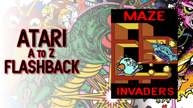 Atari A to Z Flashback: Maze Invaders