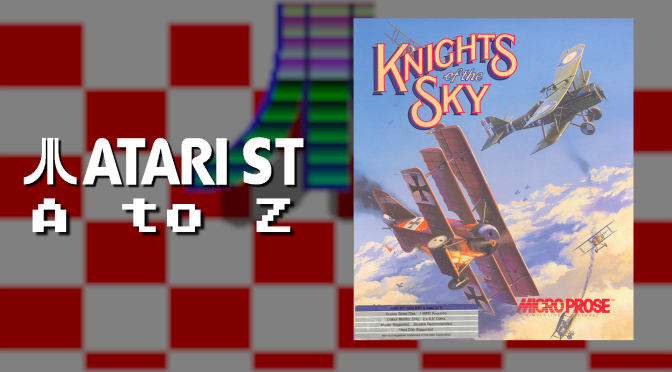 Atari ST A to Z: Knights of the Sky