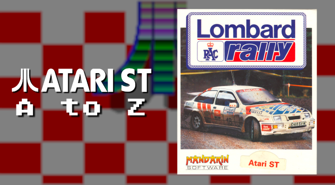 Atari ST A to Z: Lombard RAC Rally