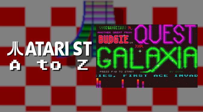 Atari ST A to Z: Quest for Galaxia