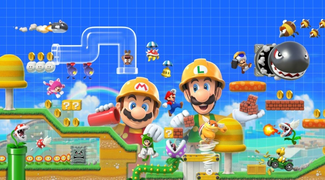 Super Mario Maker 2: Nintendo Hands Over the Keys… Again