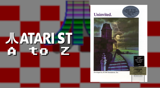 Atari ST A to Z: Uninvited