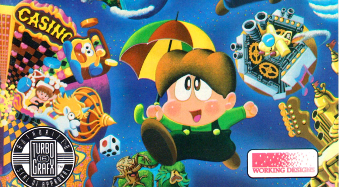 Parasol Stars: The Bubble Bobble Everyone Forgets