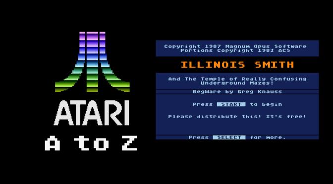 Atari A to Z: Illinois Smith