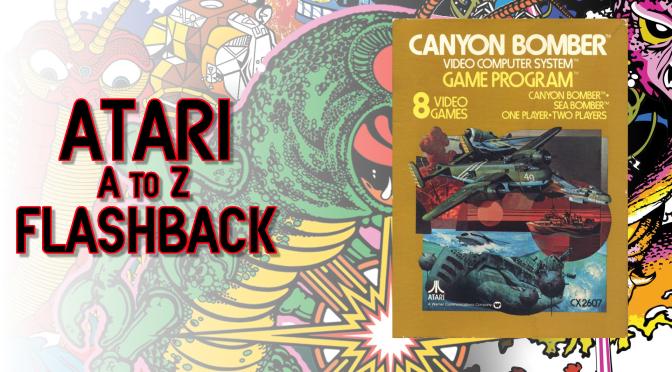 Atari A to Z Flashback: Canyon Bomber