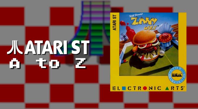 Atari ST A to Z: Zany Golf