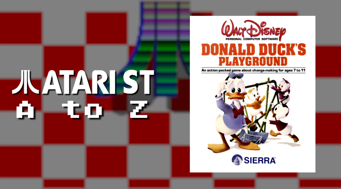 Atari ST A to Z: Donald Duck's Playground