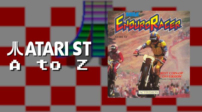 Atari ST A to Z: Enduro Racer