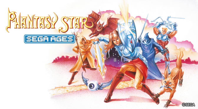 Sega Ages Phantasy Star – Classic Dungeon Crawling, Modern Conveniences