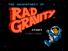 The Adventures of Rad Gravity