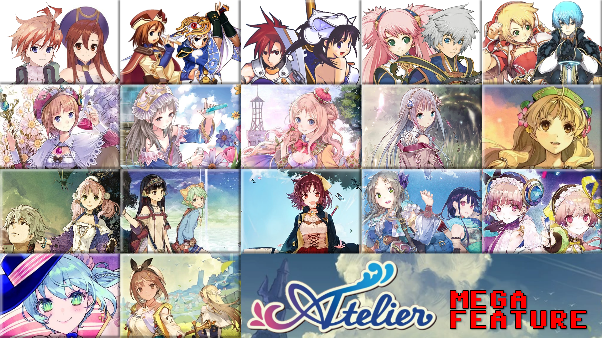 The Atelier MegaFeature