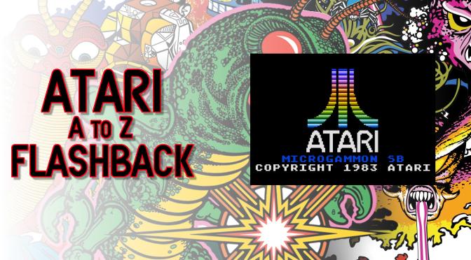 Atari A to Z Flashback: Micro-Gammon SB