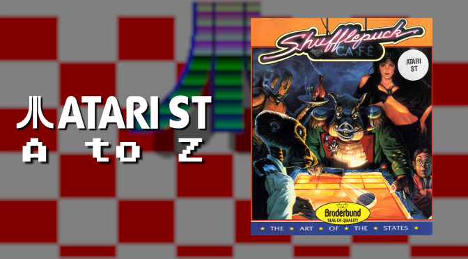 Atari ST A to Z: Shufflepuck Cafe