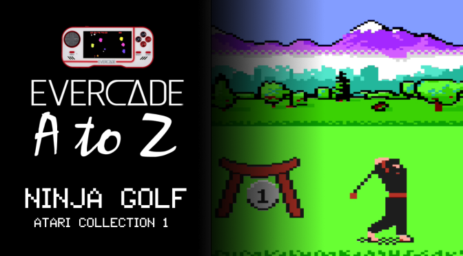 Evercade A to Z: Ninja Golf